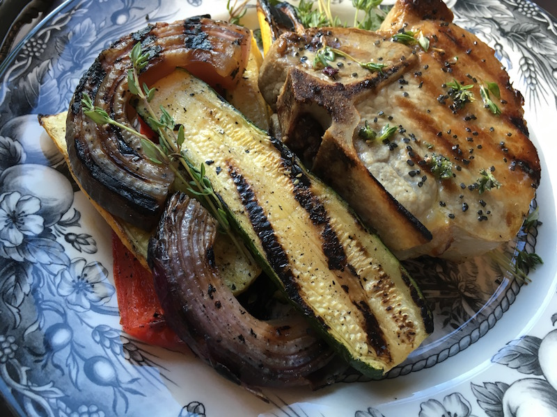 Grilled Summer Vegetable Medley