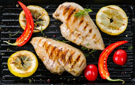 Grilled Lemon-Ginger Chicken