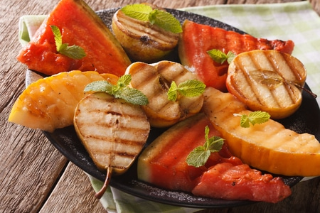 When Grilling Outdoors Think Fruit