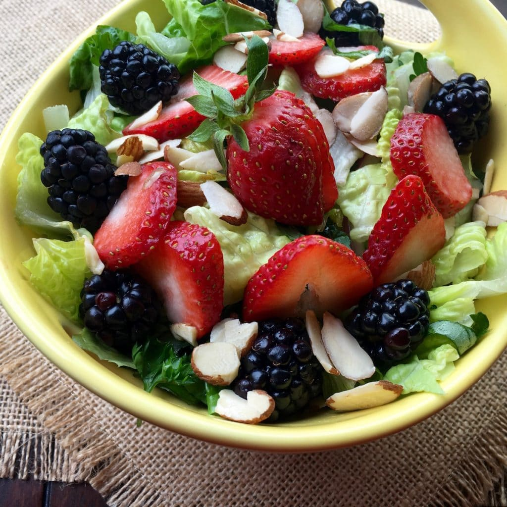 Chilled Mixed Berry Salad