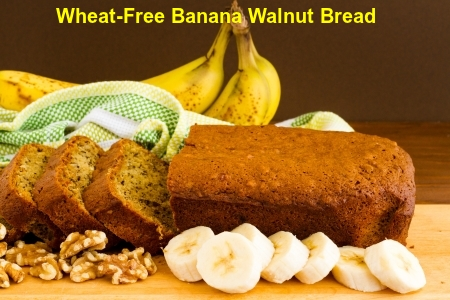 Wheat-Free Banana Walnut Bread