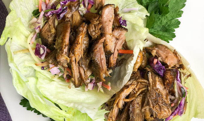 How To Make Pulled Pork Lettuce Wraps