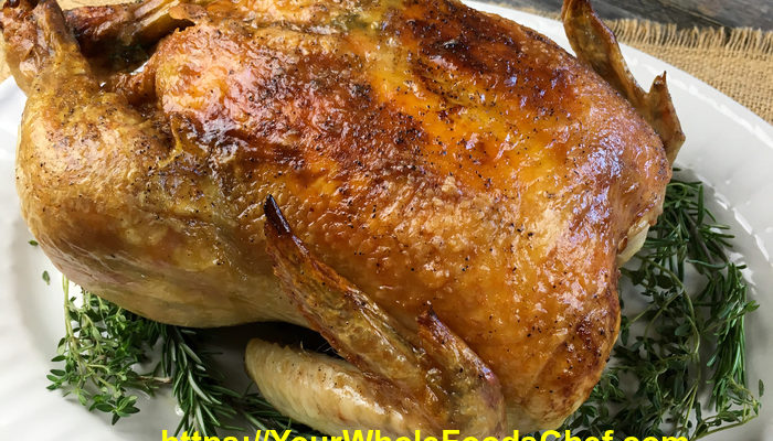 How To Make Garlic-Herb Roasted Chicken