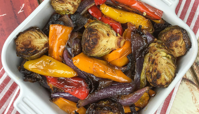 Healthy And Delicious Roasted Vegetables