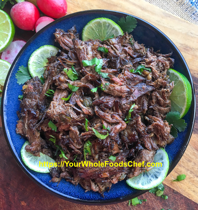 The Secret To Tender Mexican Shredded Beef