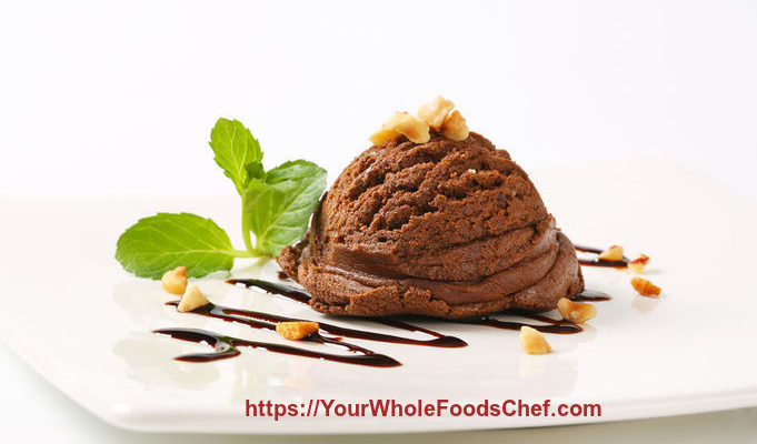 Ginger Chocolate Almond Ice Cream