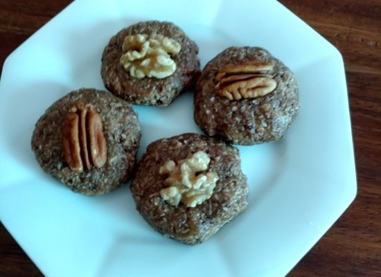Peanut Butter, Coconut, Cocoa Fat Bombs