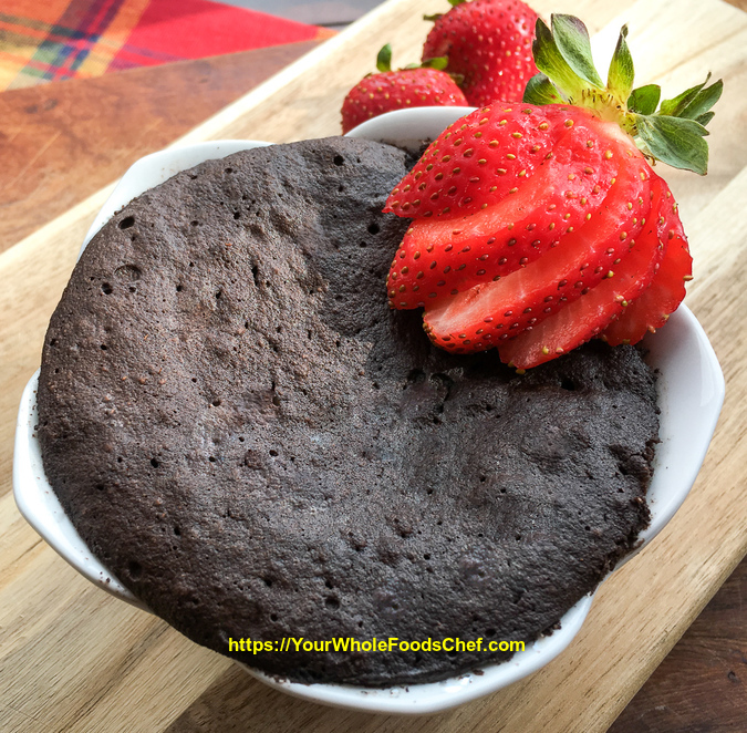Keto Friendly Chocolate Mug Cake